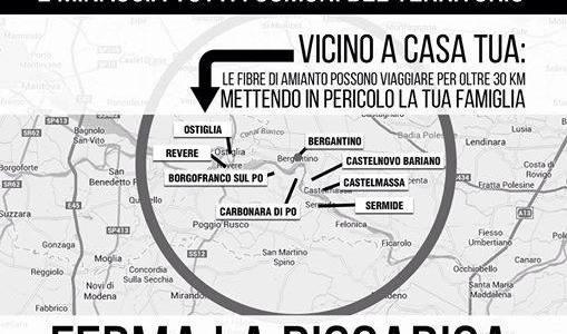 No alla discarica a Bergantino: Raccolta Firme